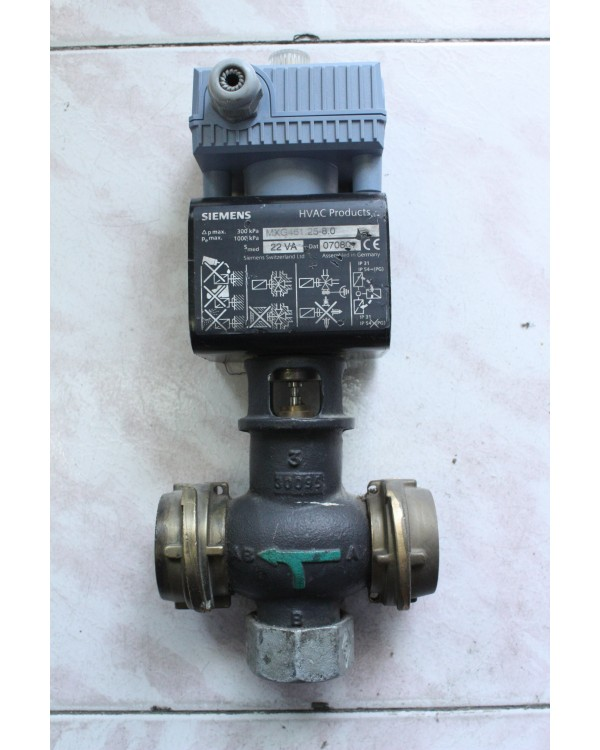 Modulating Control Valves With Magnetic Actuators MXG461.25-8.0,