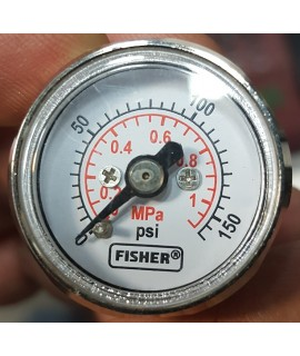 FISHER PRESSURE GAUGE FOR POSITIONER,گیج فشار